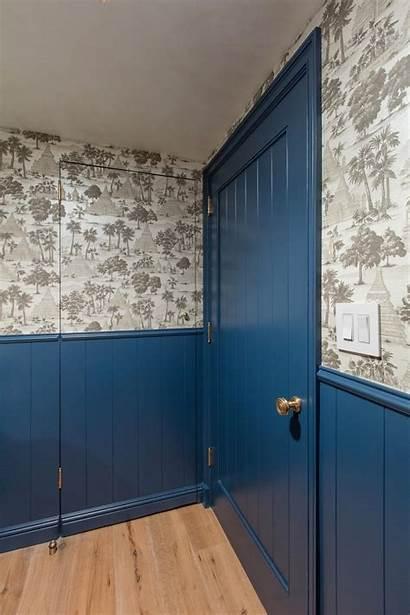 Powder Patterned Features Hgtv Bathroom Stefani Stein