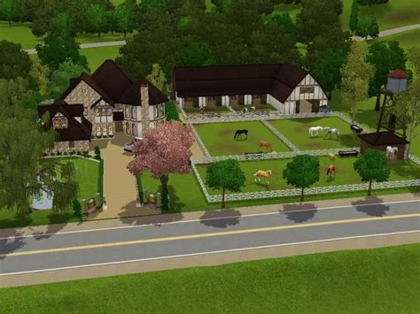 It has 1 double garage, 1 livingroom, 1 kitchen, 1 diningroom, 3 bedrooms, 1. Sims 3 Ranch House - House Decor Concept Ideas