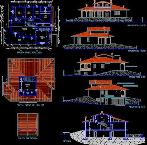 villa residential  autocad  cad   kb