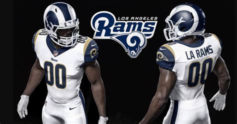 full uniform   los angeles rams
