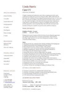 nursing cv template ireland nursing cv template nurse resume exles sle registered resumes healthcare work jobs