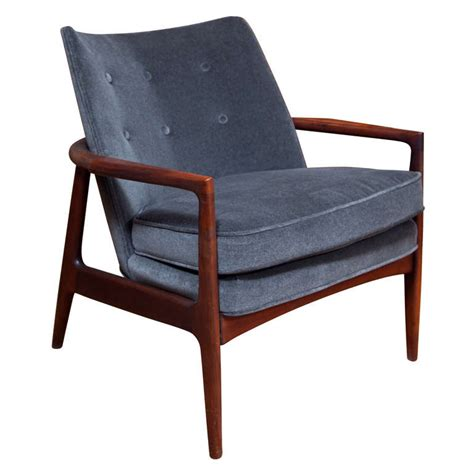 thayer coggin rosewood lounge chair at 1stdibs