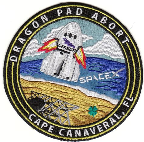 SpaceX Dragon Pad Abort Patch - US AIR FORCE SPACE AND ...
