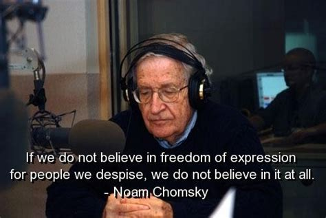 noam chomsky quotes  sayings meaningful freedom deep