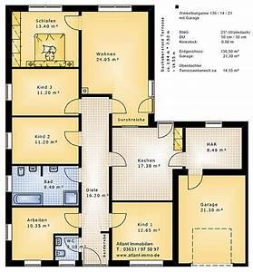 Grundrisse Für Bungalows 4 Zimmer : bungalow grundrisse 6 zimmer mit garage ihr traumhaus ideen ~ Sanjose-hotels-ca.com Haus und Dekorationen