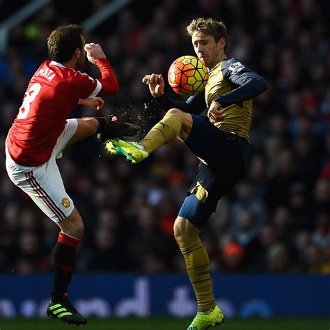 Manchester United vs. Arsenal: Live Score, Highlights from ...