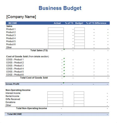 sample excel spreadsheet template documents