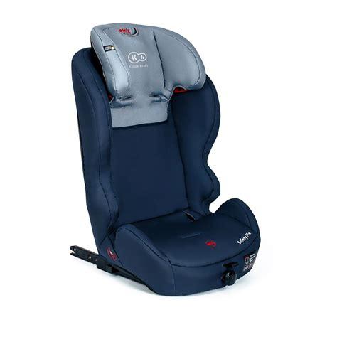 siege auto kinderkraft kinderkraft safetyfix bleu foncé isofix siège voiture pour