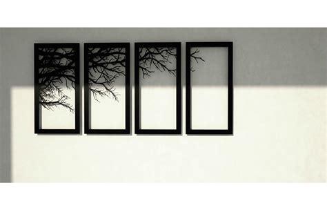 Decor Laser - tree branch framed wall accessory decor laser cutting