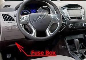 Fuse Box Diagram Hyundai Tucson  Lm  2010