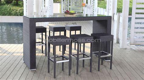 table haute de cuisine et tabouret table haute et tabouret cuisine en image