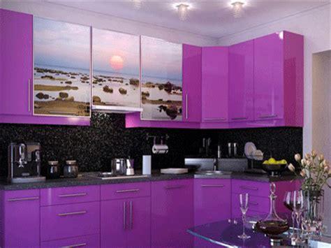 Purple Kitchen Cabinets Modern Kitchen Color Schemes