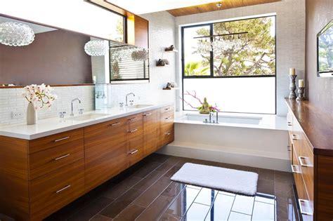 mid century modern vanity upgrades  bathroom