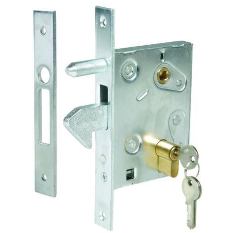 serrure  crochet pour porte ou portail coulissant axe