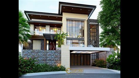 jasa arsitek desain rumah modern tropis bapak ale