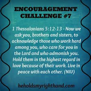 Encouragement for Church Leaders