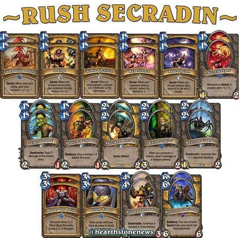 1000 ideas about hearthstone miracle rogue on pinterest