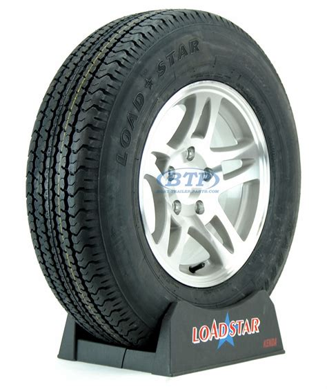 Boat Trailer Tires On by Boat Trailer Tire St205 75r14 Radial On Aluminum 5 Lug