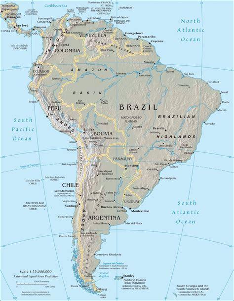Južna Amerika - Kontinenti