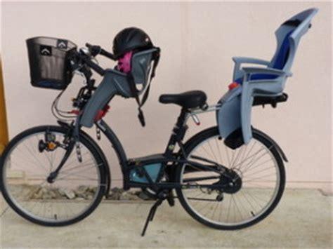siège bébé à l avant siege enfant avant velo le vélo en image