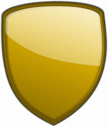 Shield Clipart درع Clip Oro Publicdomainfiles Domain