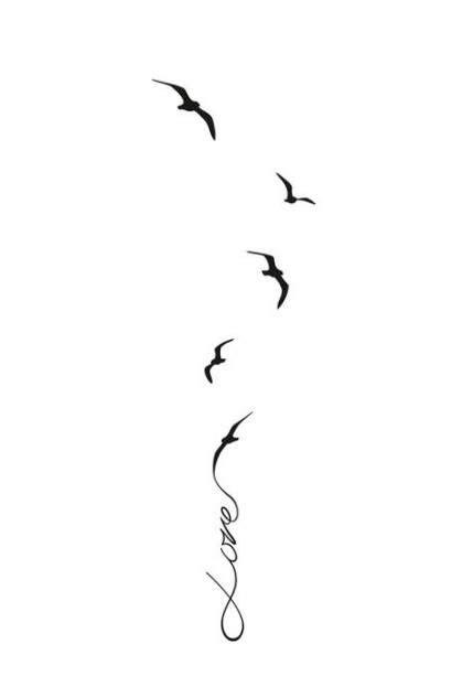 38+ trendy small bird tattoo on wrist simple ribs #tattoo #bird | Nápady na tetovanie, Drobné
