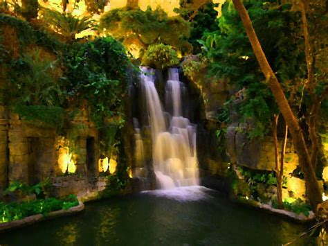 indoor unique indoor waterfall design ideas water