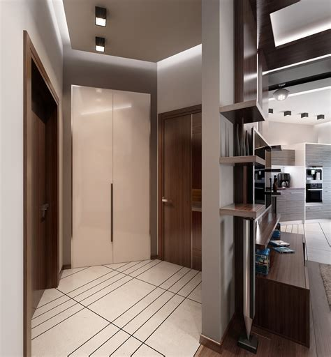 Modern Design by Three Apartments With Special Lighting Schemes