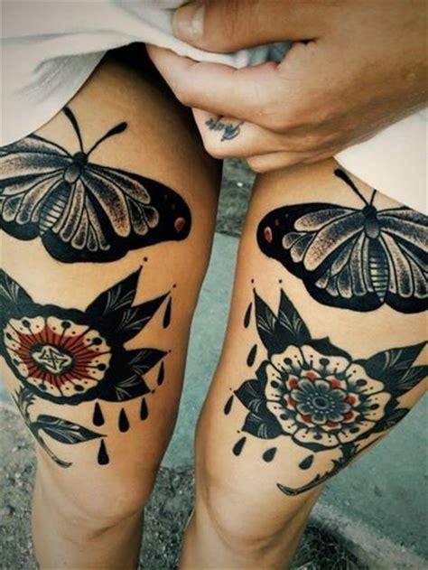 endearing leg tattoos  women