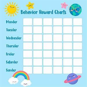 8 Best Printable Reward Charts For Teachers Printablee Com