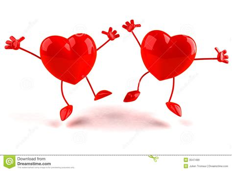 happy hearts royalty  stock images image