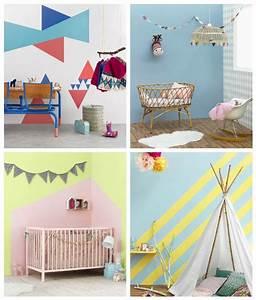Peindre une chambre d enfant meilleures images d for Superior piece peinture 2 couleurs 12 7 idees pour decorer un mur joli place