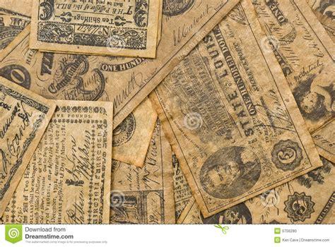 colonial money stock photo image  dollar america finance