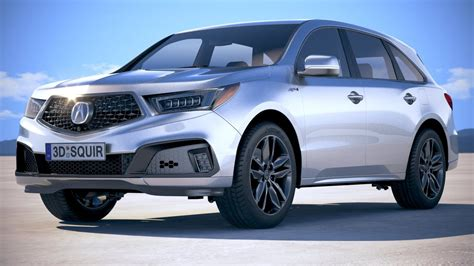 2019 Acura Specs by Acura Mdx A Spec 2019
