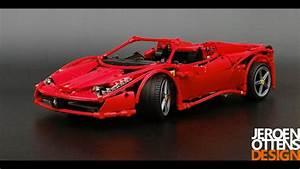 Lego Technic Ferrari : lego technic 1 10 replica of the ferrari 458 spider youtube ~ Maxctalentgroup.com Avis de Voitures