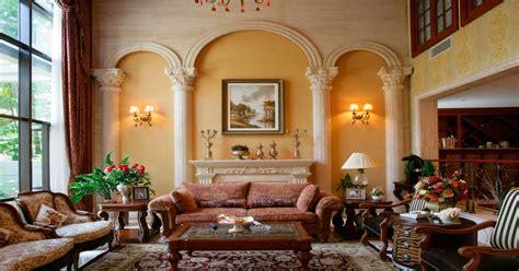 Luxury Villa Interior Roman Style