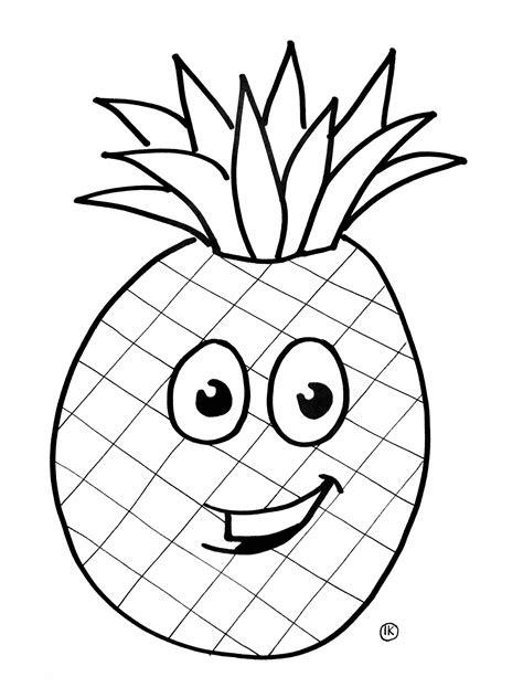Citroen Fruit Kleurplaat by Kleurplaat Smiley