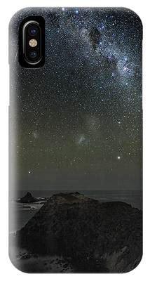 Milky Way Over Phillip Island Australia Photograph