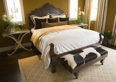 Cowhide Bedroom - 50 professionally decorated master bedroom designs photos