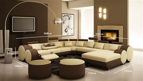 salon canapé marron salon marocain marron et beige dootdadoo com idées de