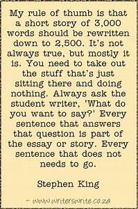 Stephen King On... Short Stories