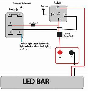 4 Pin Led Rocker Switch Wiring Diagram Html 4 Pin Wiring A