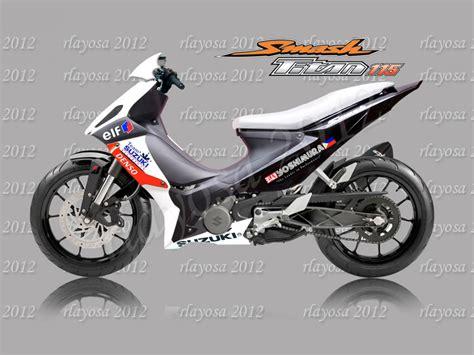 Bore Up Suzuki Smash 150cc by 2014 Suzuki Smash 115 Moto Zombdrive