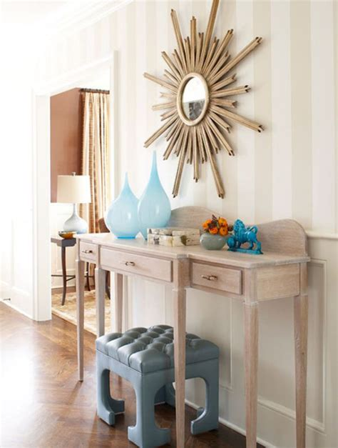 how to decorate a desk how to decorate a console table top seeing the forest