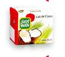 le lait de coco en cuisine j utilise