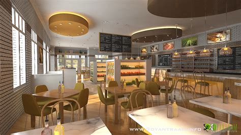 interiors cuisine 3d cgi design for food court yantram