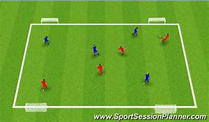 Football  Soccer  4 Goal Game  Tactical  Switching Play