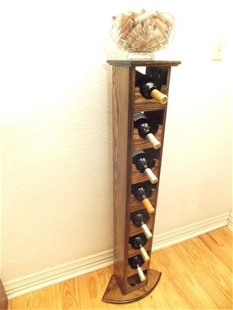 Buy a Hand Crafted Tall Skinny Wine Rack, made to order