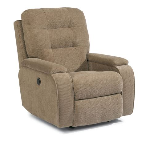 rocker recliners on flexsteel accents kerrie power rocker recliner with