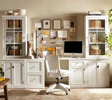 Office Desk Pottery Barn by Wall Unit Using Ikea Furniture Can Make This Look